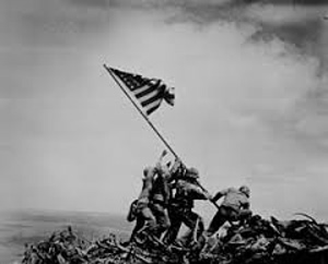 Flag Raising on Mt. Suribachi